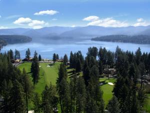 Hayden Lake CC Aerial